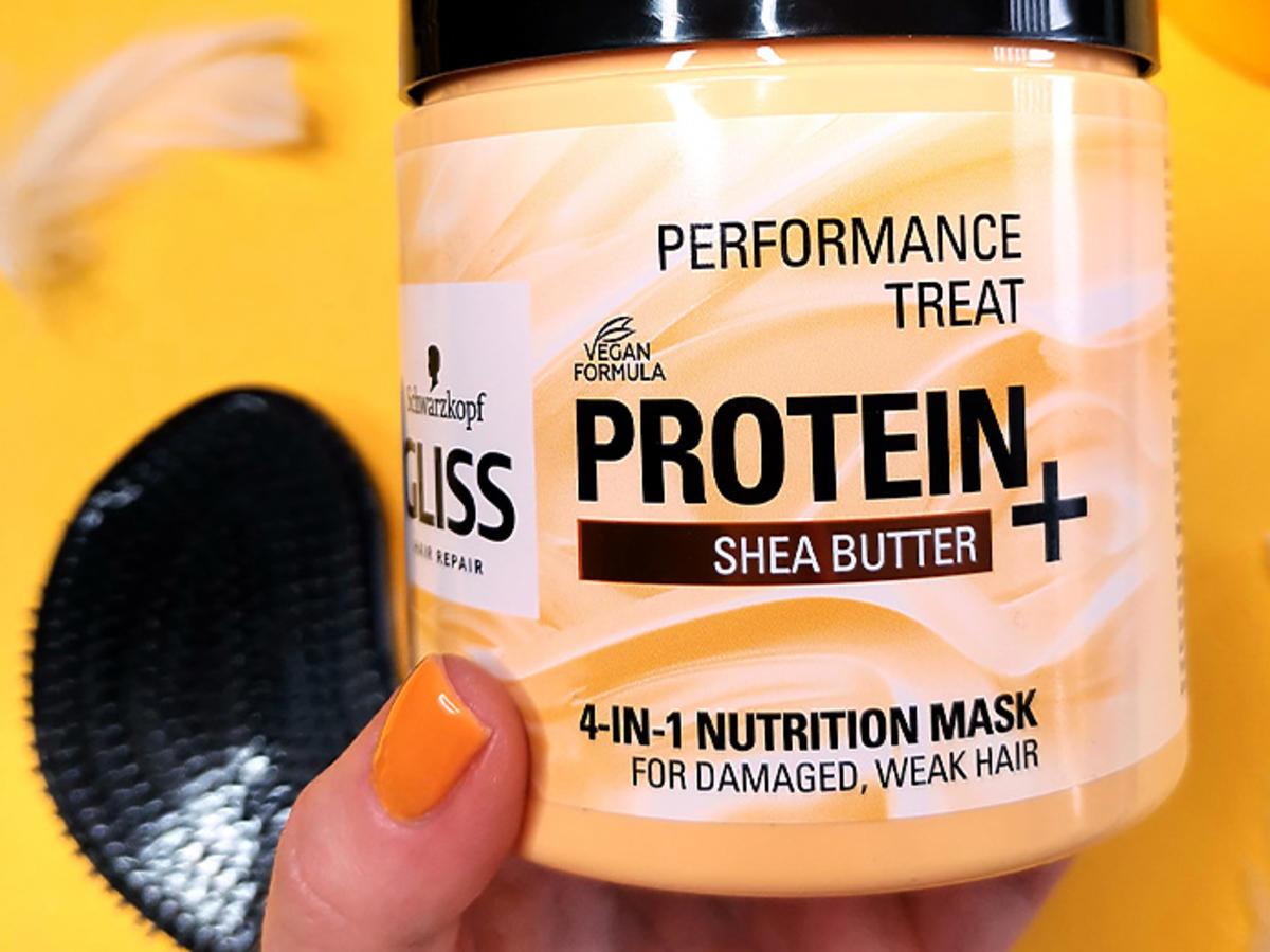 Testujemy maskę do włosów od Gliss