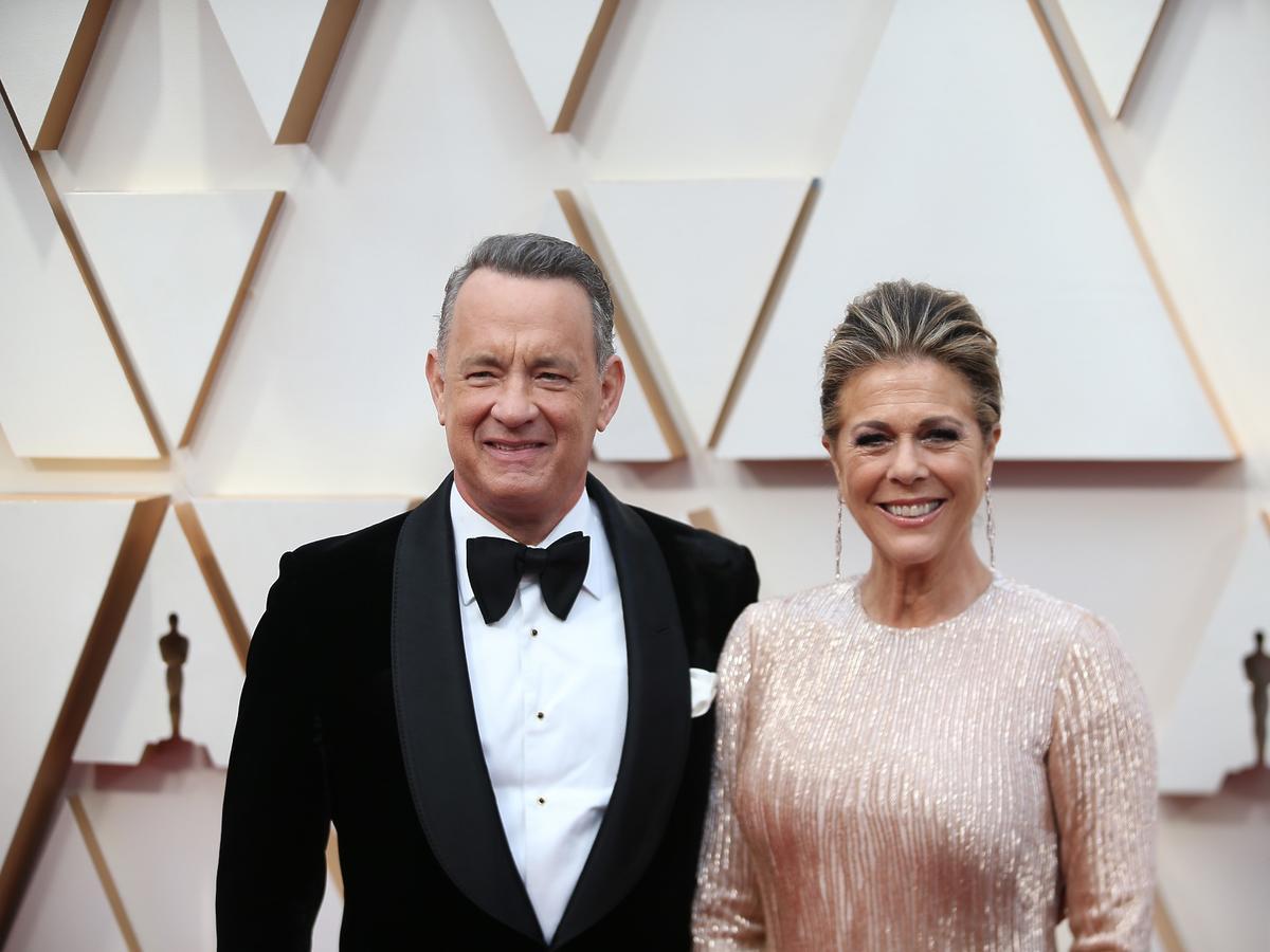Tom Hanks koronawirus