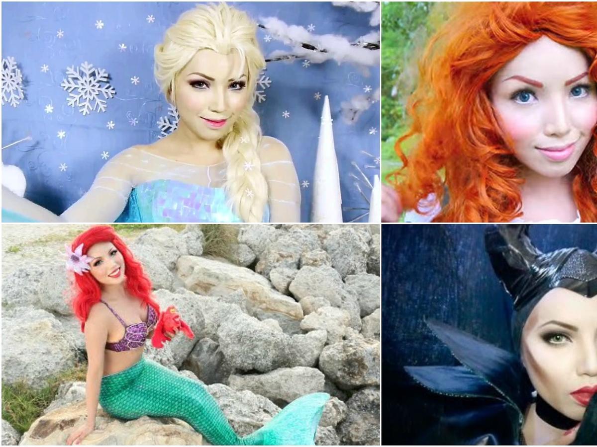 TOP6 - makijaże z bajek Disneya