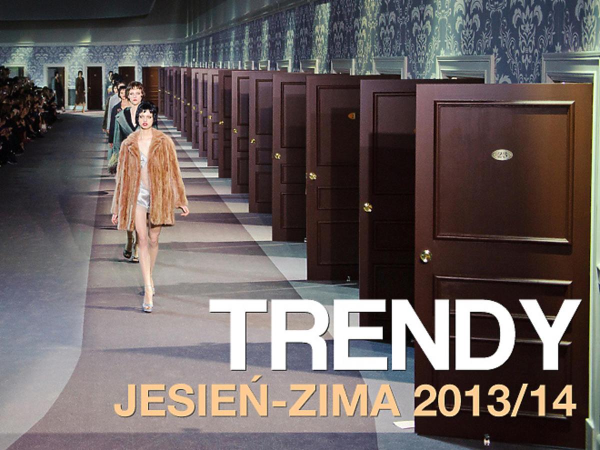 trendy jesień-zima 2013/14