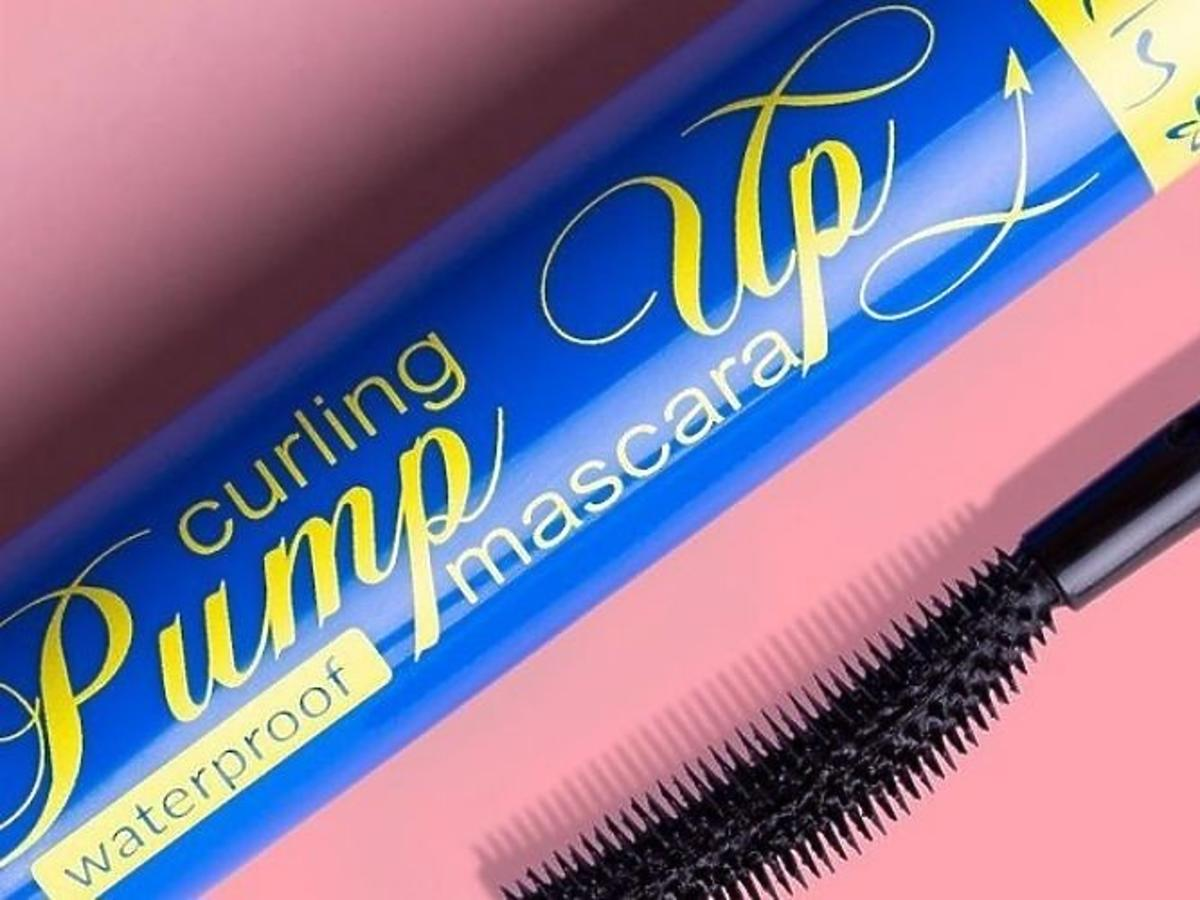 Tusz do rzęs Lovely, Curling Pump Up Mascara wodoodporny