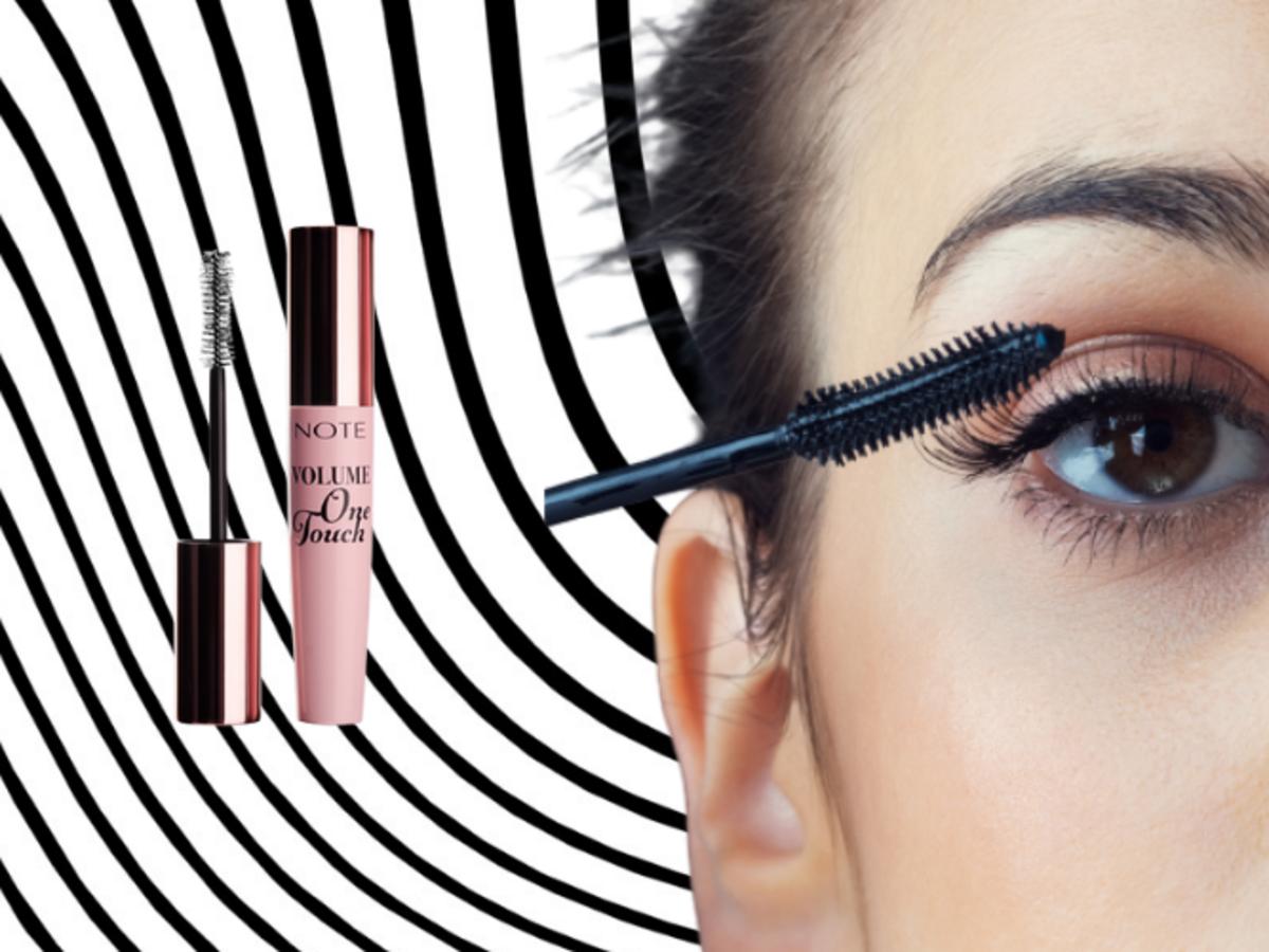 tusz do rzęs Volume One Touch Mascara od Note Cosmetique
