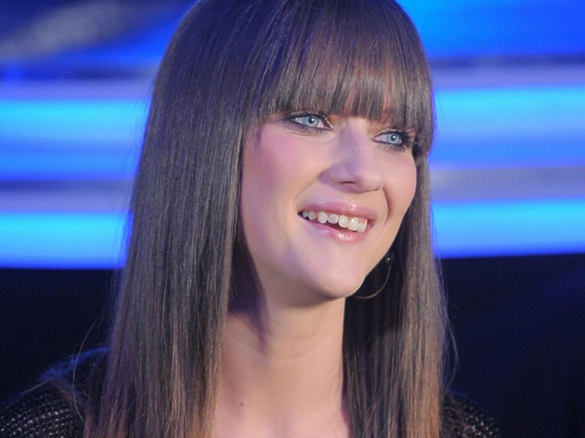 Uśmiech piosenkarki Juli