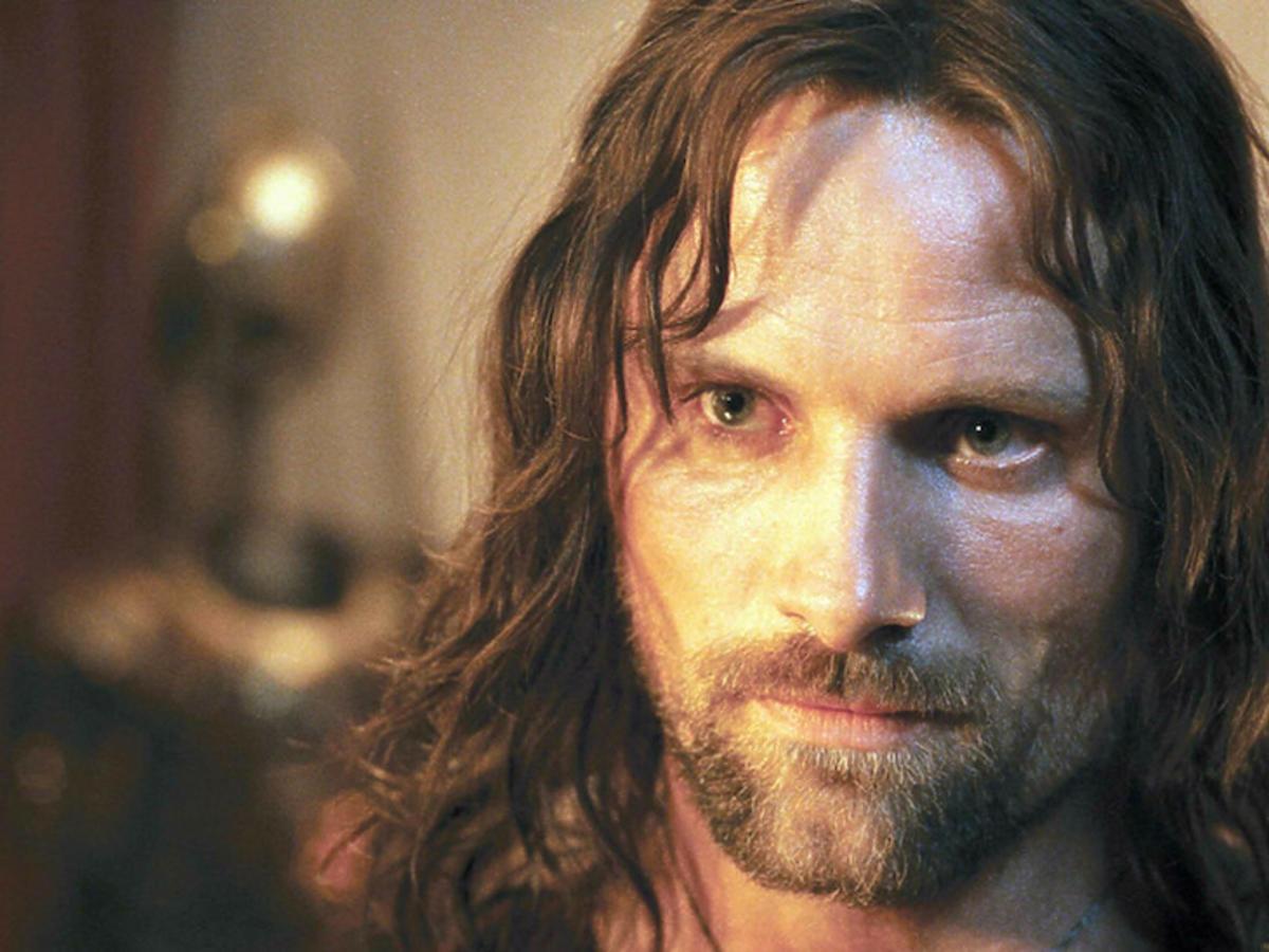 Viggo Mortensen jako Aragorn