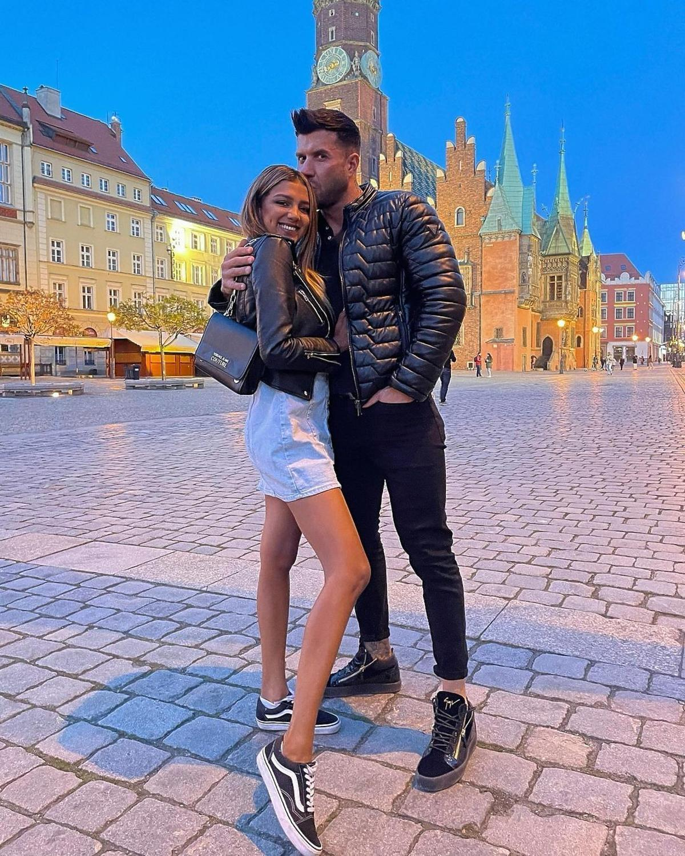 Waleria i Piotrek z Love Island w mieście