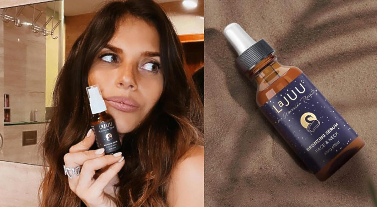 Weronika Rosati - bronzing serum Lajuu