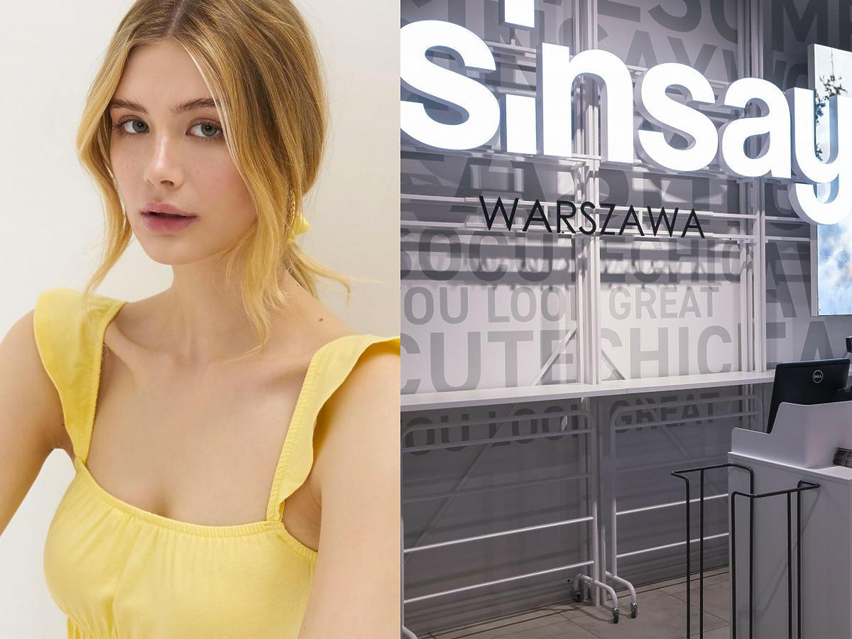 Wielka letnia wyprzedaż w Sinsay na bluzki, spódniczki, sukienki