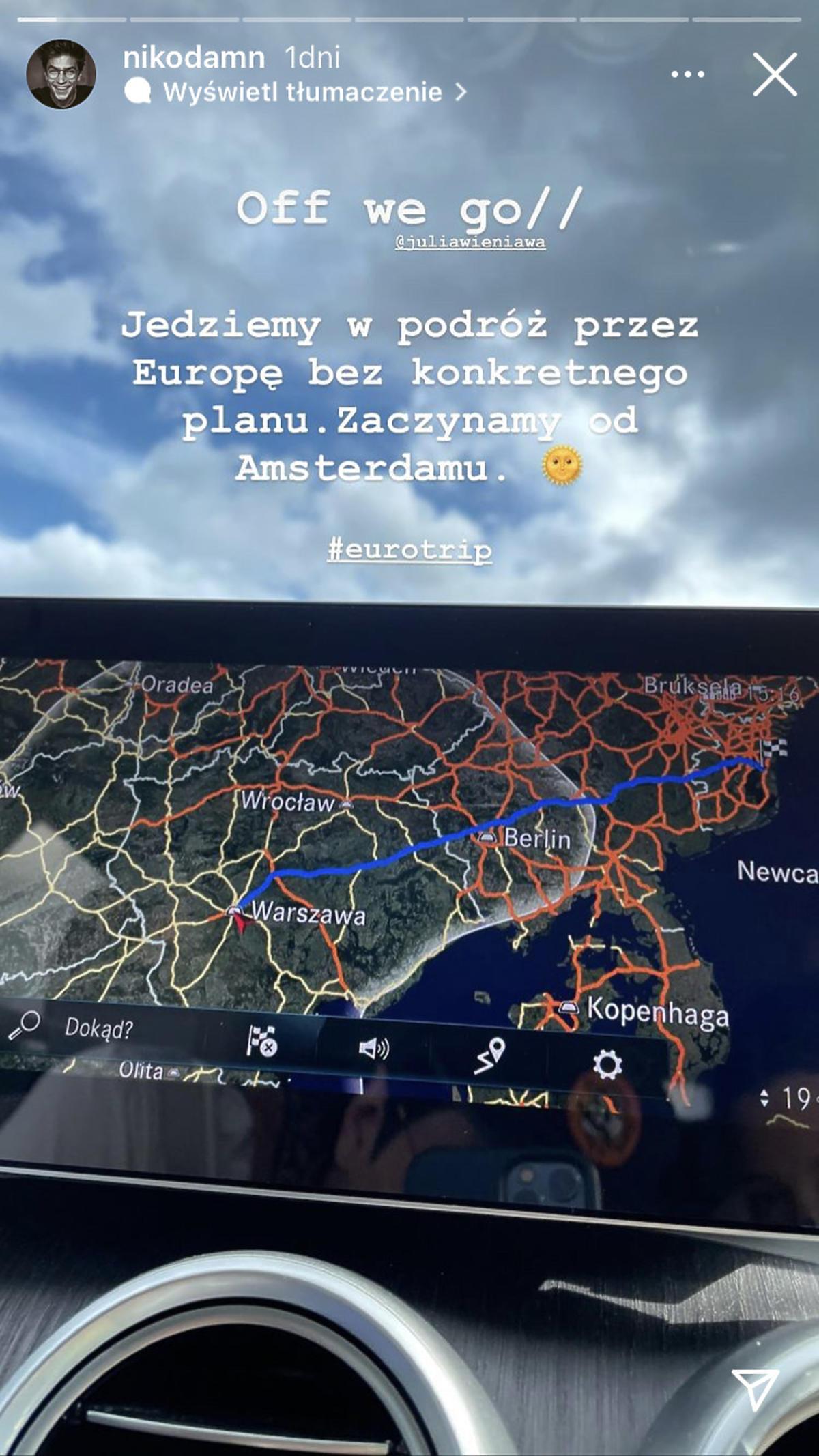 Wieniawa i Rozbicki jadą w podróż dookoła Europy