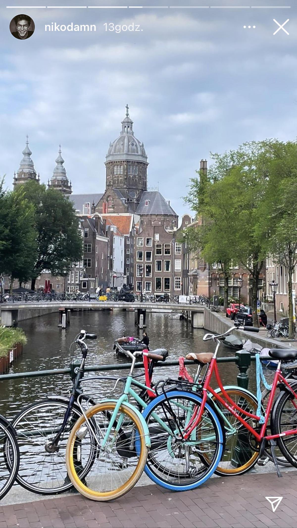 Wieniawa i Rozbicki zwiedzają Amsterdam