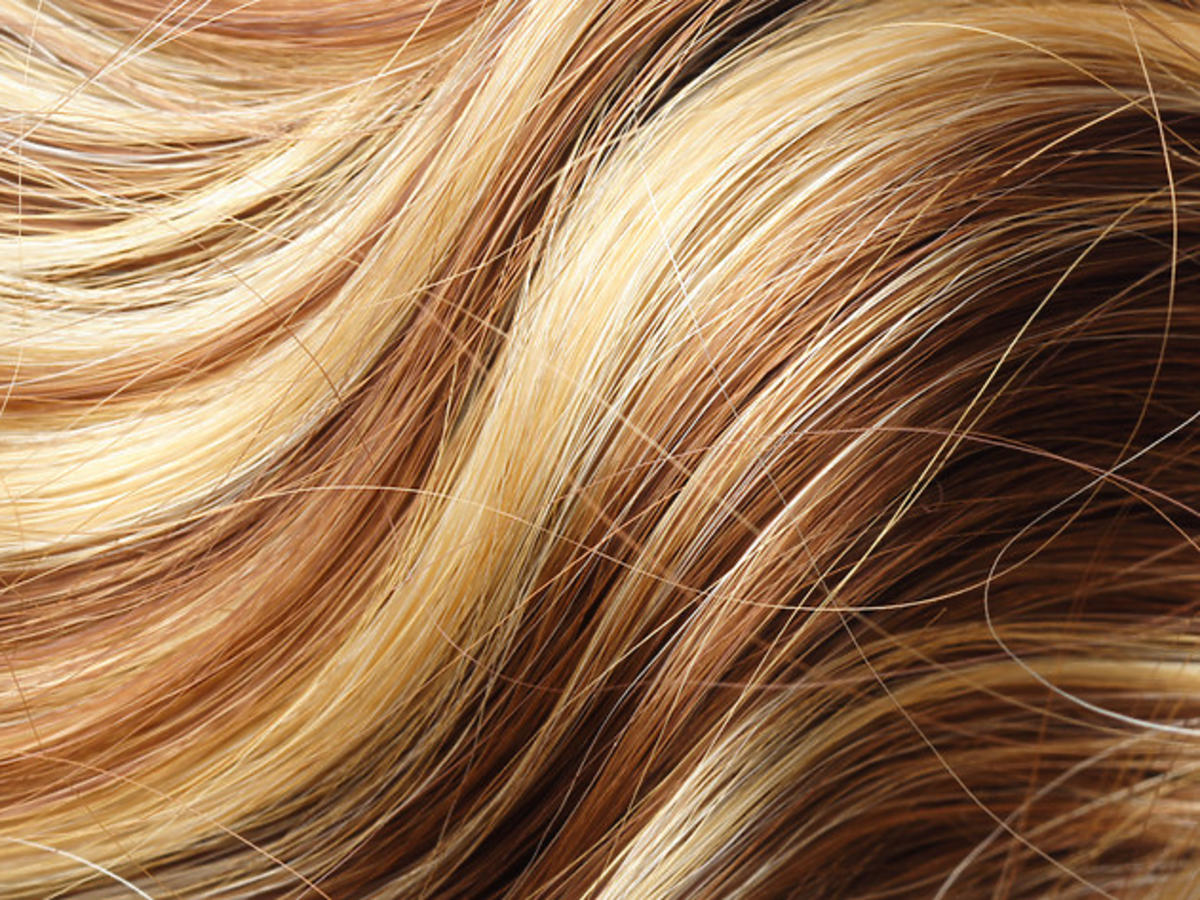 włosy po balejażu 2021