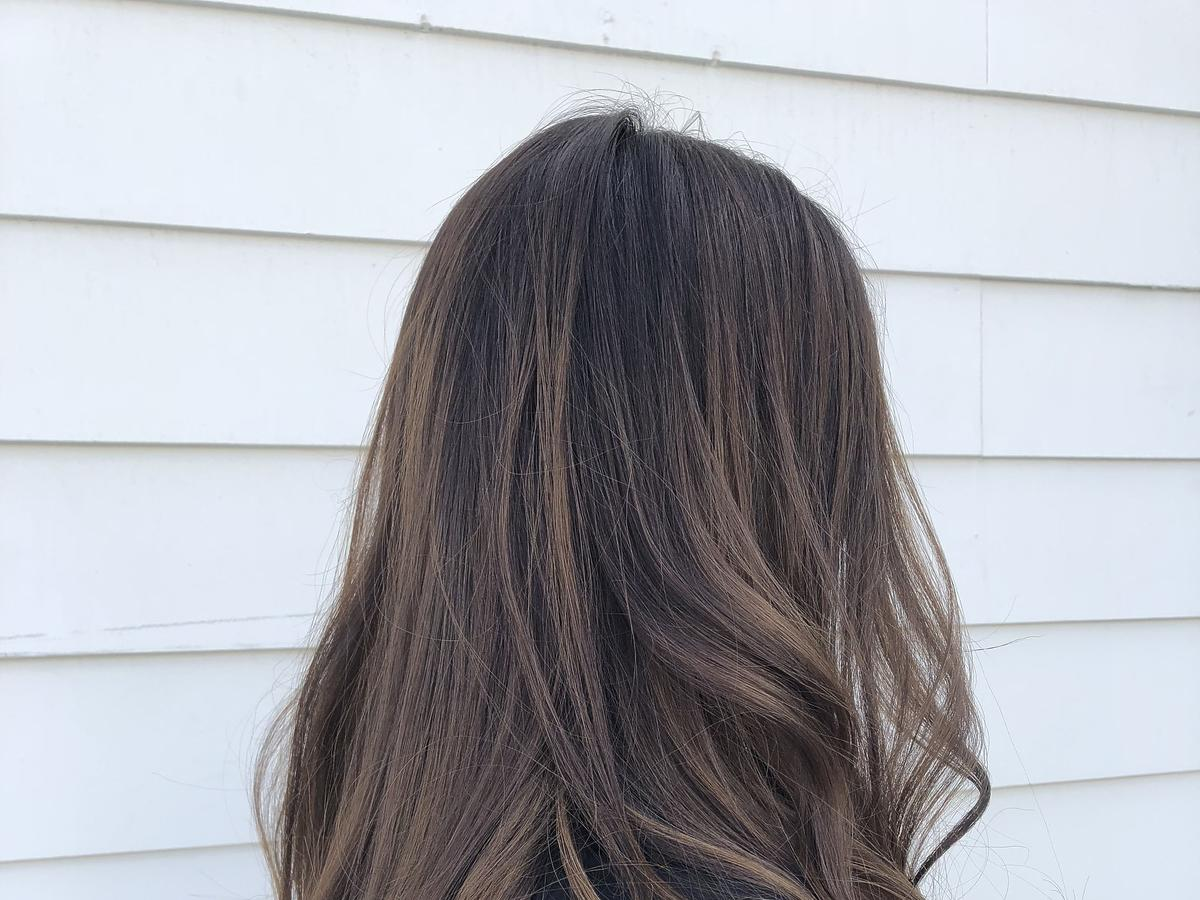 włosy po czarnym mydle