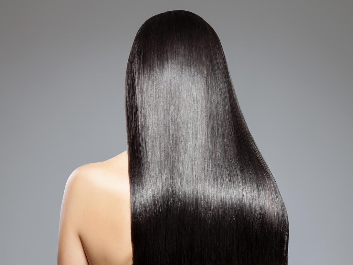 włosy po zastosowaniu odżywki z Rossmanna