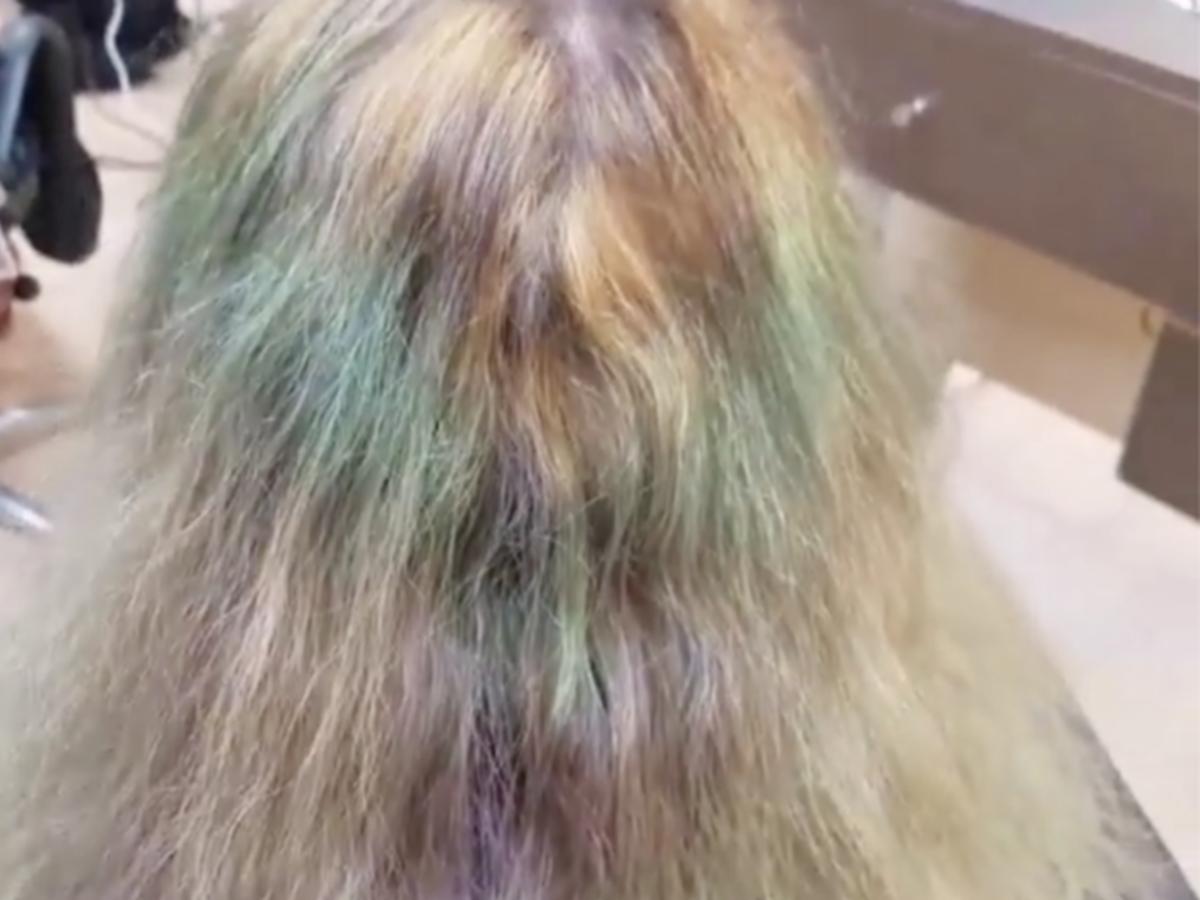 włosy zniszczone farbowaniem