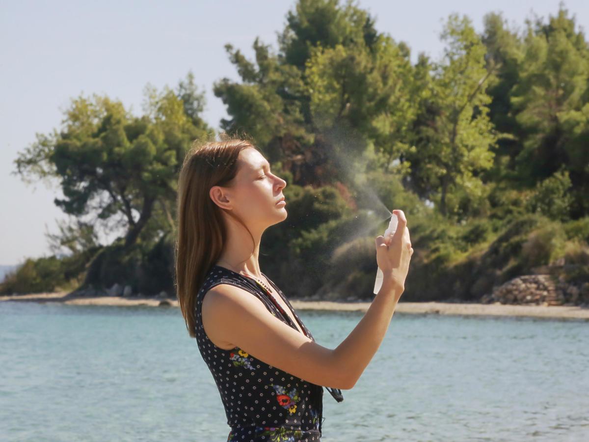 Woda termalna do opalania