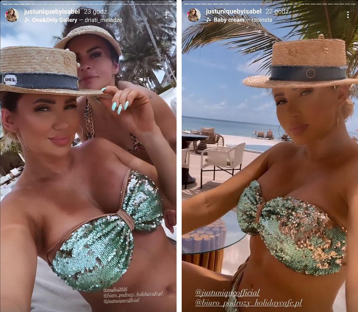 """Wojna w komentarzach na Instagramie Izabeli Macudzińskiej. Czym """"Królowa życia"""" aż tak rozzłościła internautów?"""