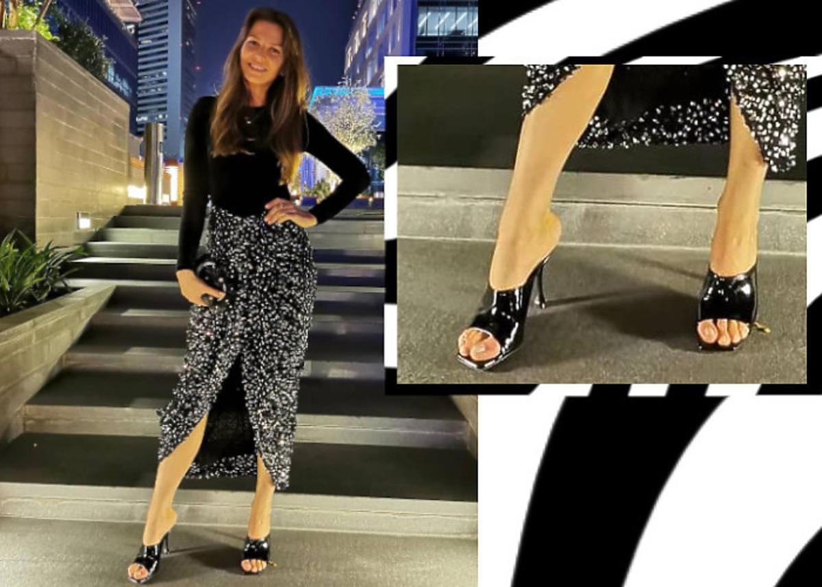 wpadka z butami Anny Lewandowskiej