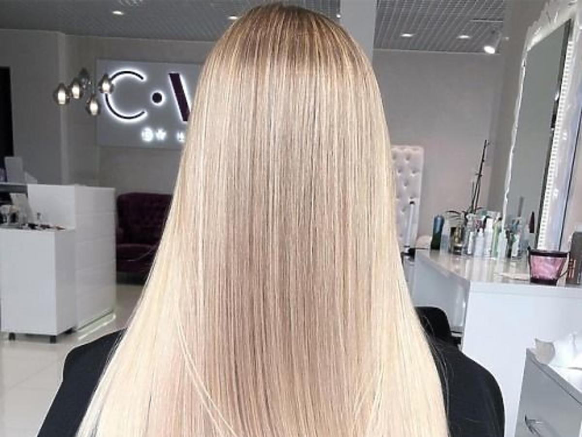 wygładzanie kremem do włosów