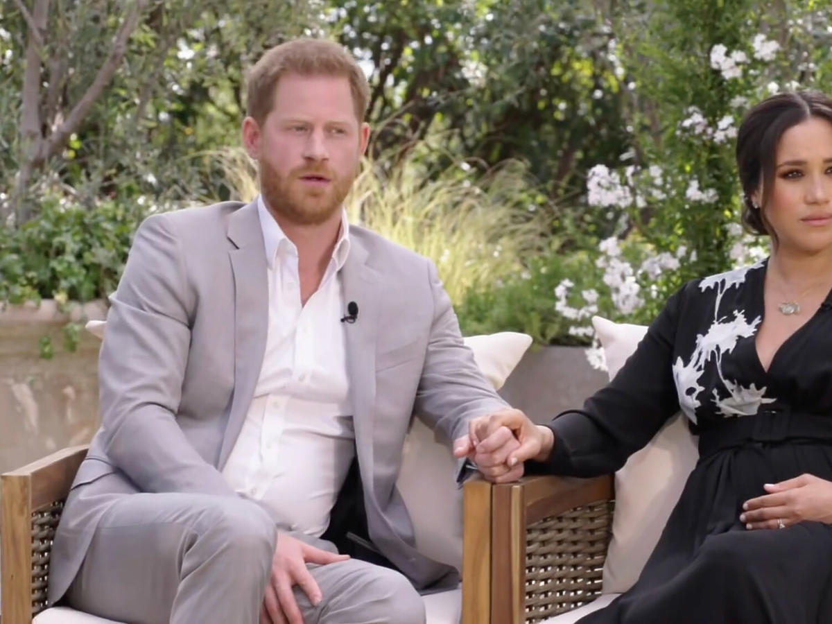 Wywiad Meghan i Harry'ego u Oprah Winfrey