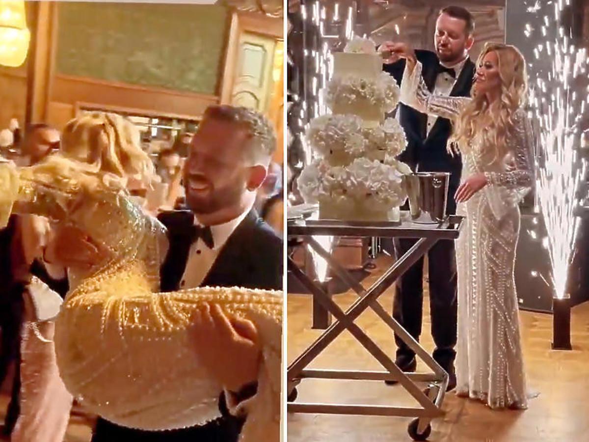 """ylwii Peretti z """"Królowych Życia"""" pokazała zdjęcia ze ślubu"""