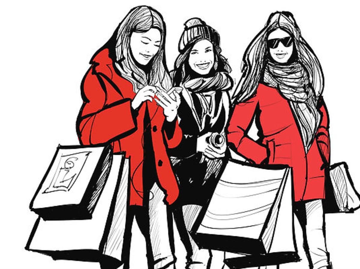 zakupy dziewczyny moda
