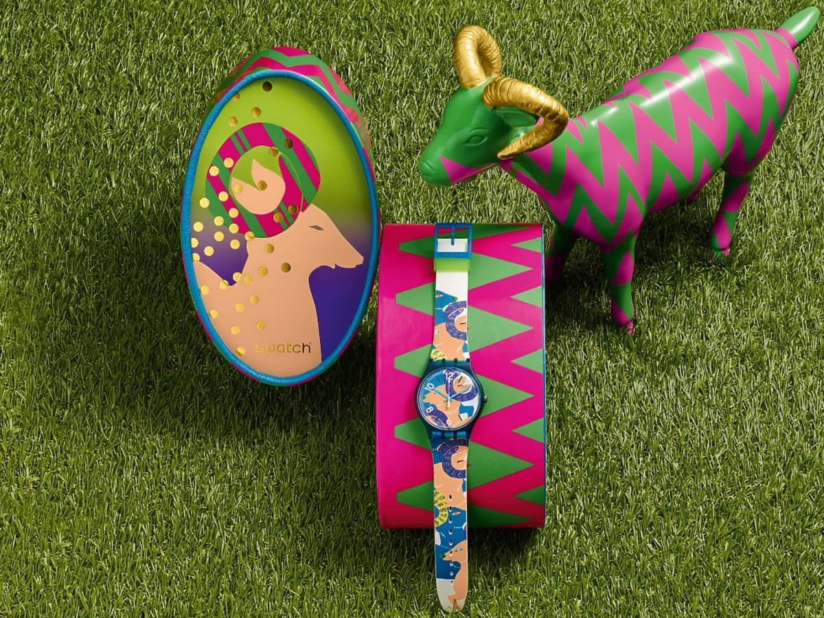 zegarek Swatch na Rok Kozy