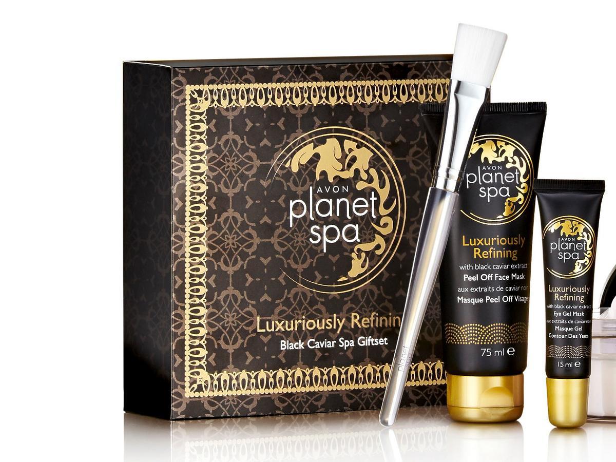 Zestaw AVON Planet Spa – luksusowy rytuał z czarnym kawiorem
