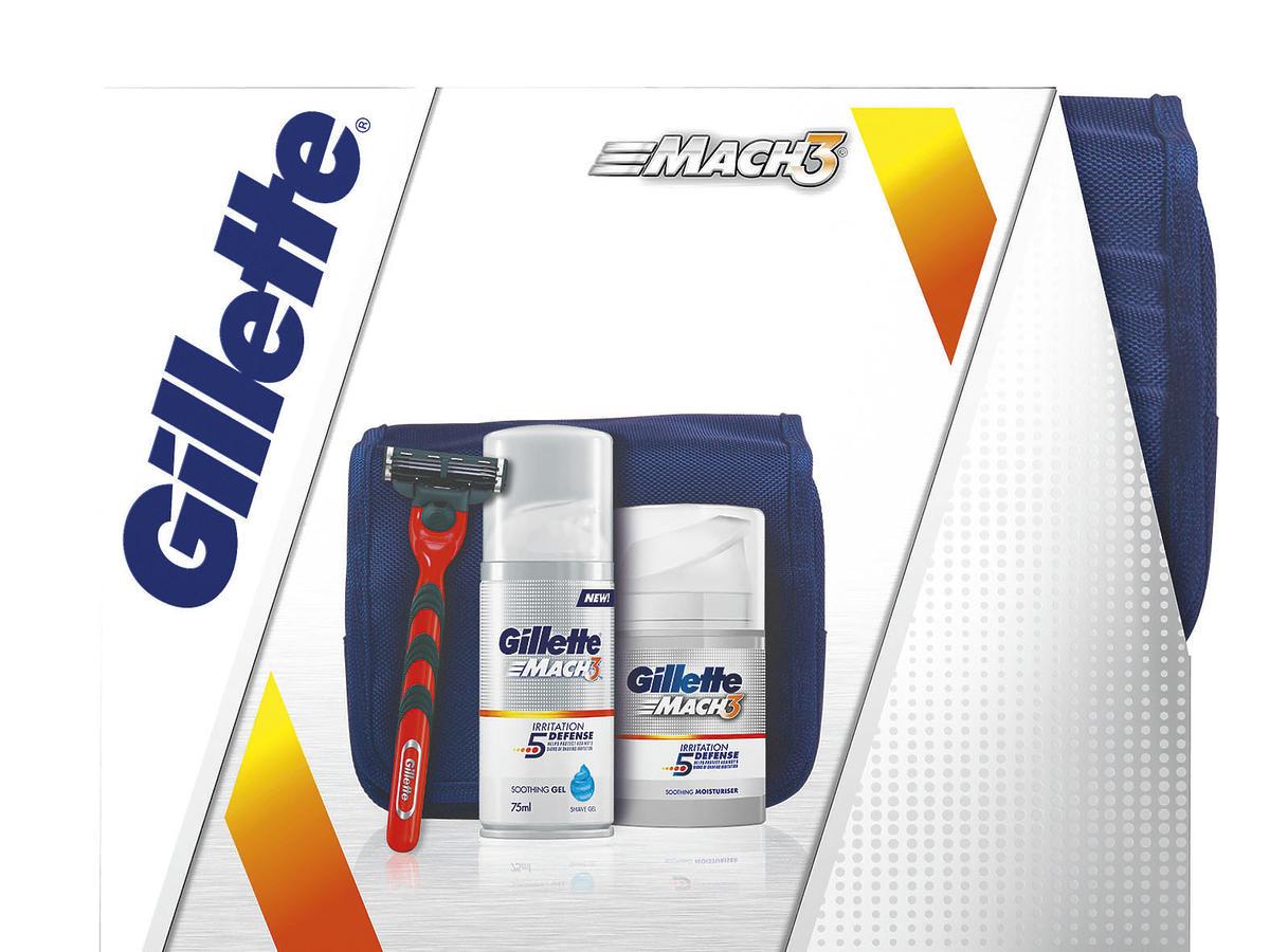 Zestaw podarunkowy Gillette MACH3