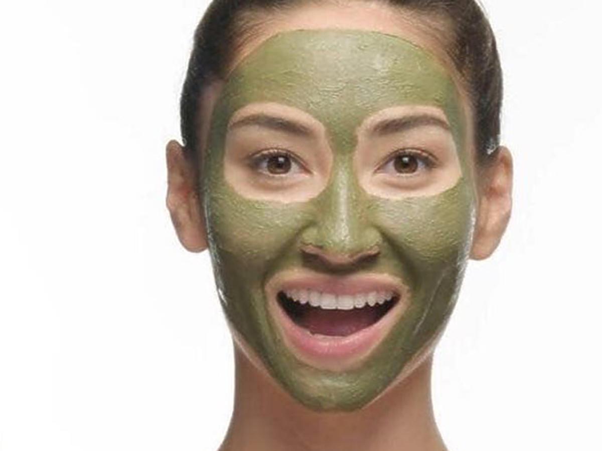 zielona glinka działanie maseczka
