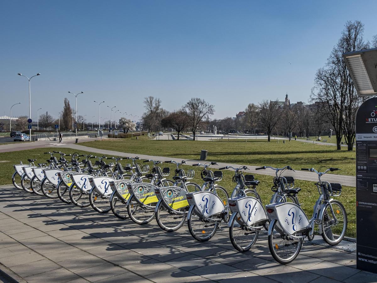 Zniesiono kolejne obostrzenia - rowery miejskie